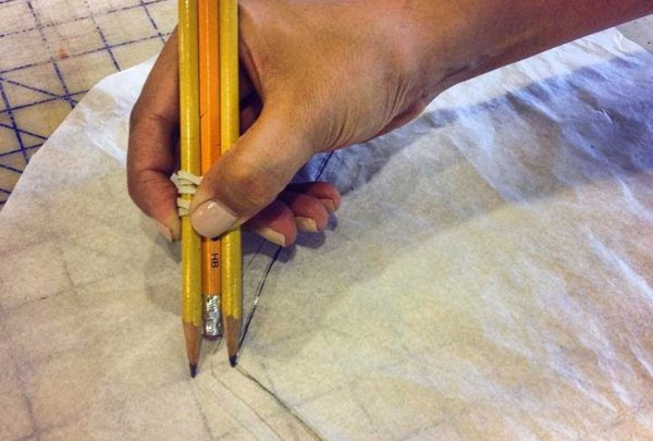 1 How to quickly mark your seam allowance