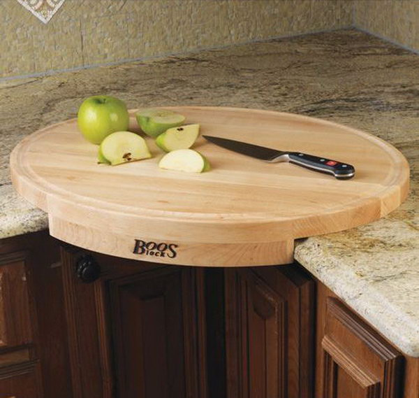 1 John Boos Corner Cutting Board
