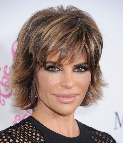 BEVERLY HILLS, CA - OCTOBER 11: Actress Lisa Rinna arrives at the 2014 Carousel Of Hope Ball Presented By Mercedes-Benz at The Beverly Hilton Hotel on October 11, 2014 in Beverly Hills, California.  (Photo by Gregg DeGuire/WireImage)