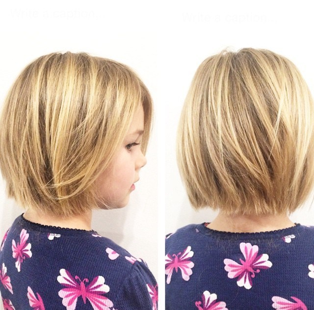 1 bob haircut for little girls