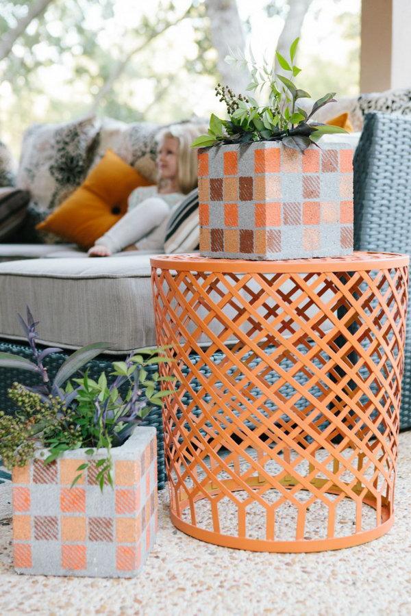 10 DIY Concrete Vases