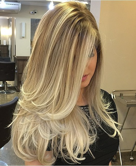 11 long blonde ombre hair