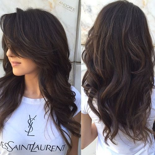 11 long layered hairstyle for thick hair