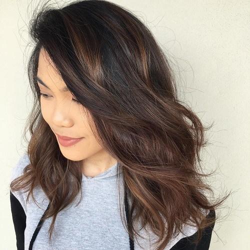 11 subtle brunette ombre balayage