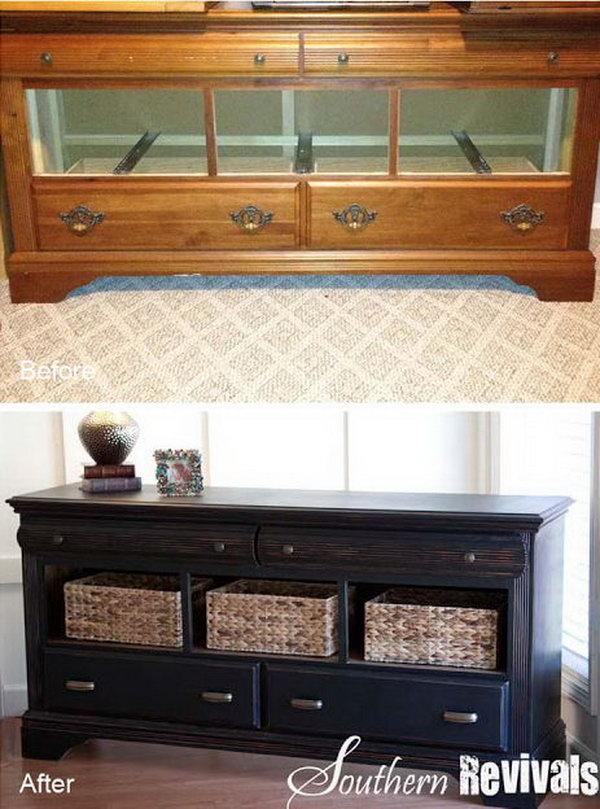 12 Pottery Barn Style Dresser Revival