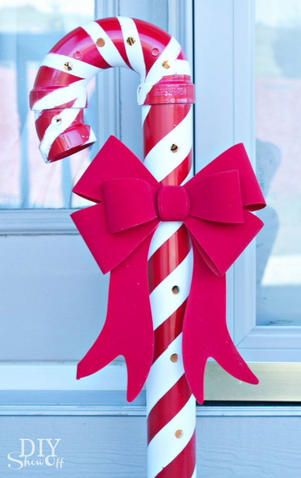 13 PVC Candy Canes