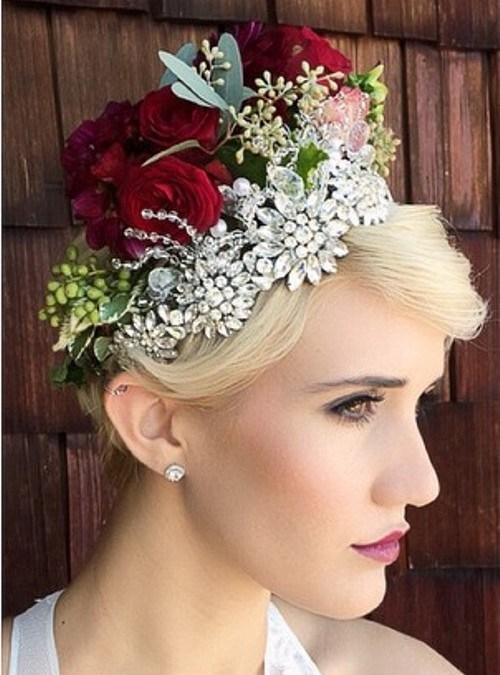 13 wedding pixie hairstyle