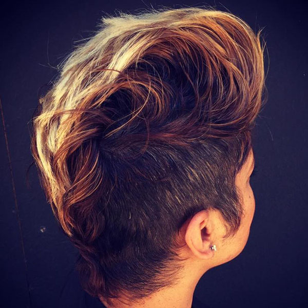 13 womens mohawk with side undercuts