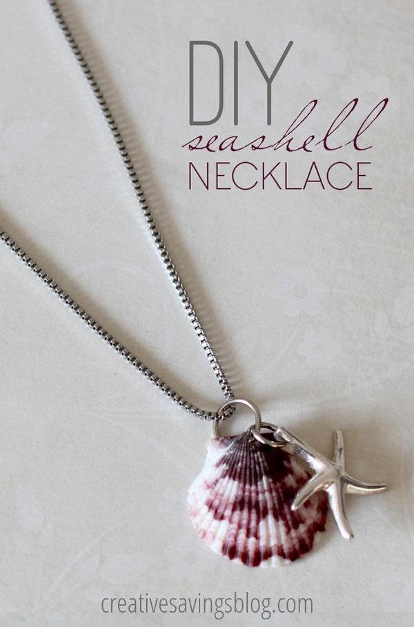 14 DIY Seashell Necklace