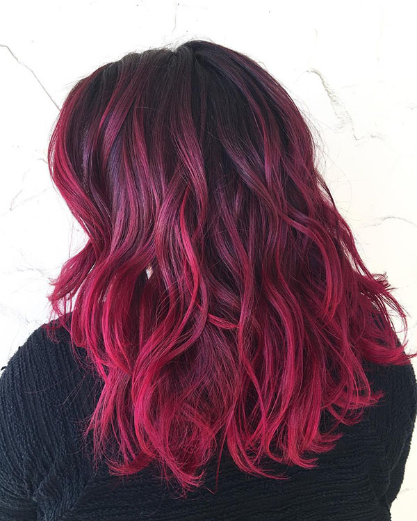 15 burgundy ombre highlights for black hair