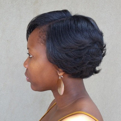 15 formal short hairstyle for black women