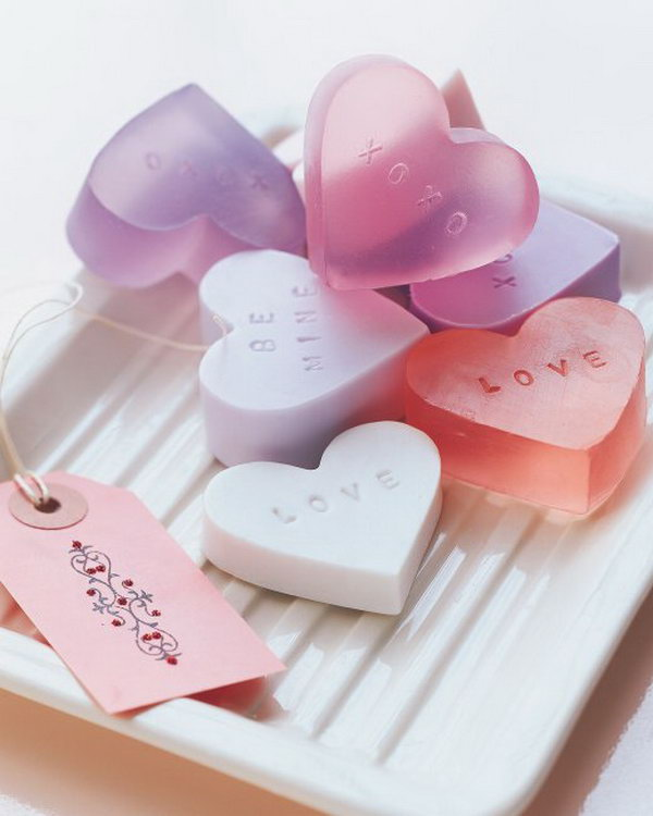 16 DIY Heart Shaped Soap Tutorial
