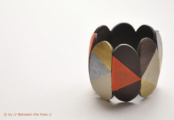 16  Reworked Wooden Bracelet