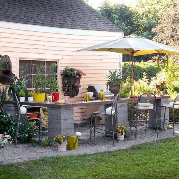 17 Affordable Outdoor Kitchen