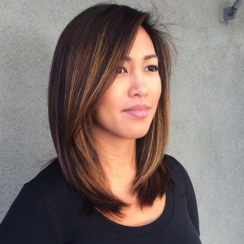 17 copper balayage highlights for dark brown hair