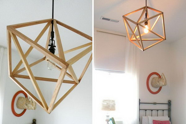 18 Cube Pendant Light