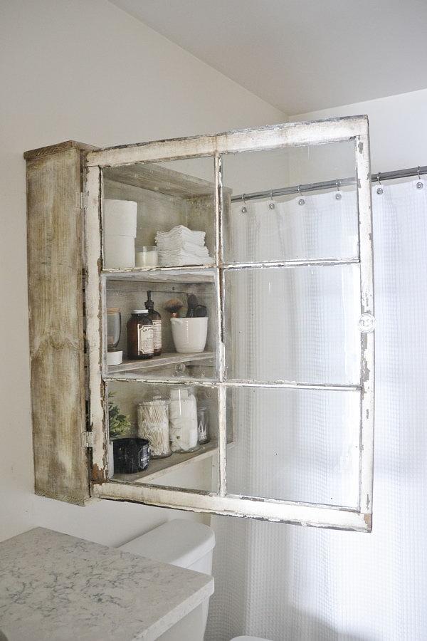 18 DIY Window Cabinet
