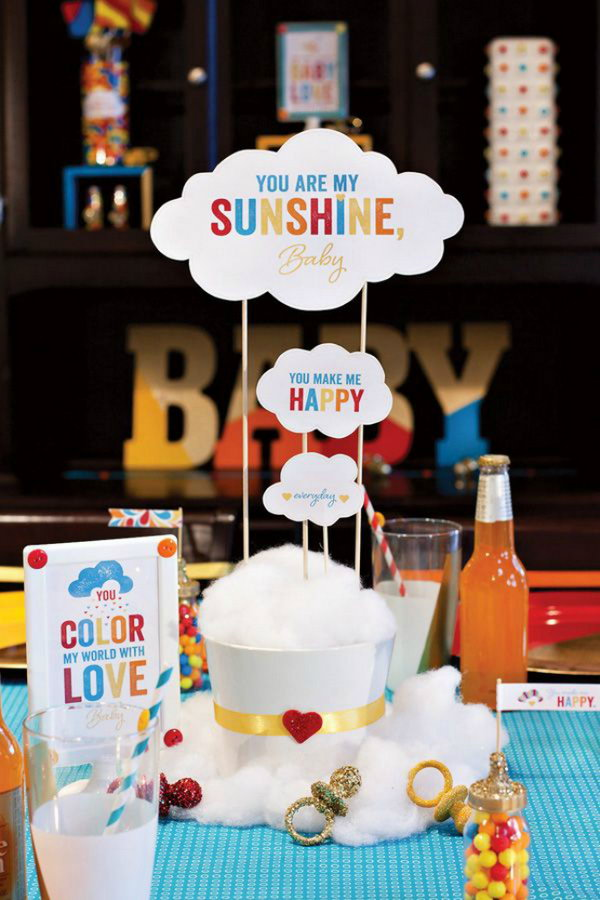 18 Rainbow Baby Shower Theme