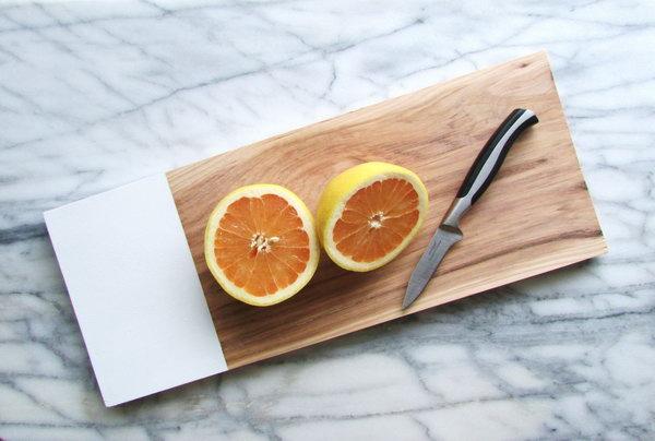 19 Handmade Hickory Chop Board