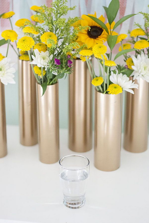 19 PVC Vase and Centerpiece