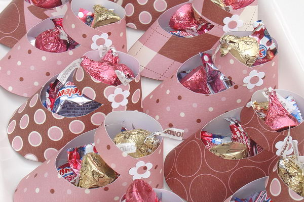 19 Paper Shoes For Girl Baby Shower