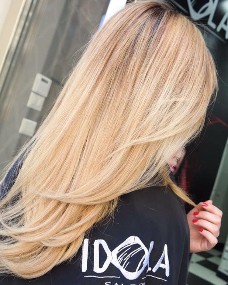 19 Vshaped haircut for long hair
