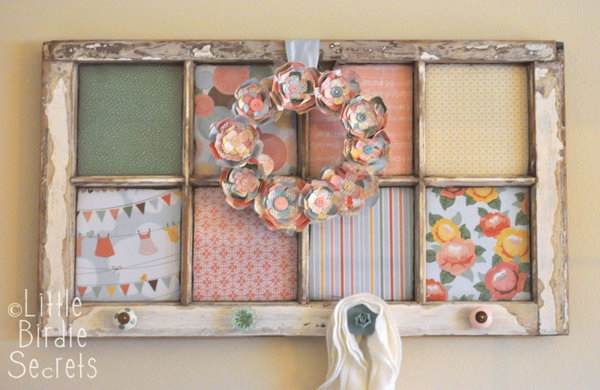 20 Creatively Altered Window Frame