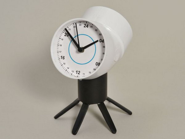 21 PVC Two-Faced Clock