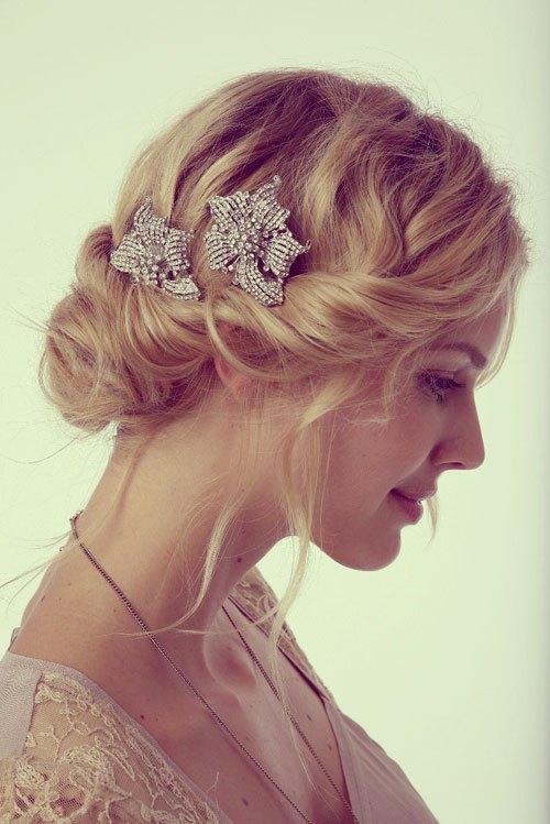 21 Short wedding hairstyles for fine hair