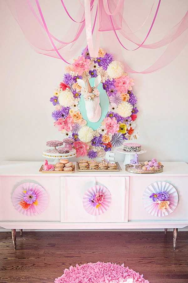 Baby Shower Unicorn Theme ~ Cute cool summer baby shower decoration ideas page
