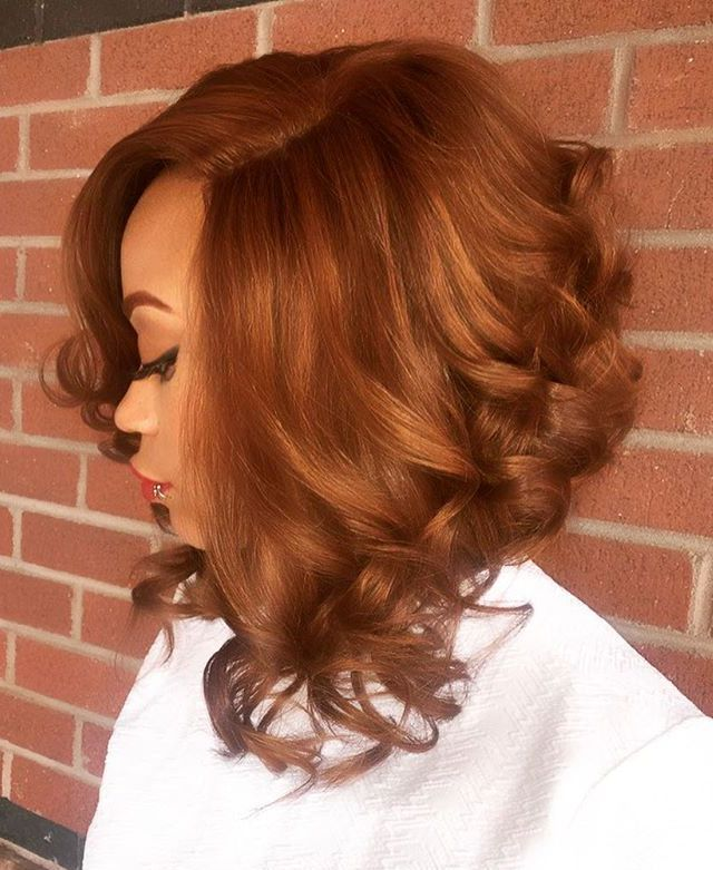 21 angled lob with curled ends
