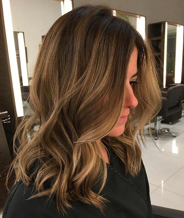 21 light brown balayage hair