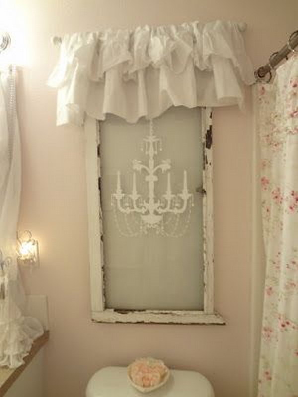29 diy old window decoration ideas page 22 foliver blog. Black Bedroom Furniture Sets. Home Design Ideas