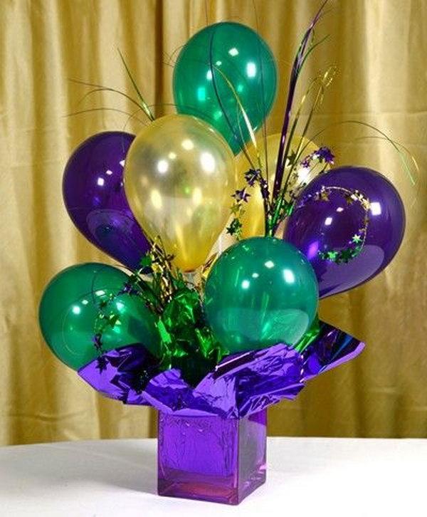 23 Air-filled Balloon Centerpieces & 28 Beautiful DIY Balloon Decoration Ideas u2013 Page 23 u2013 Foliver blog