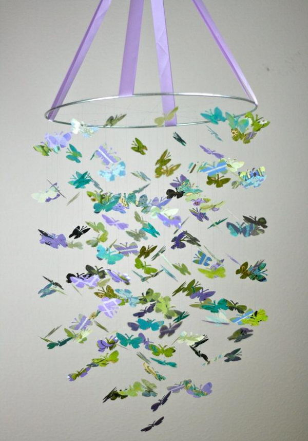 23 Butterfly Chandelier