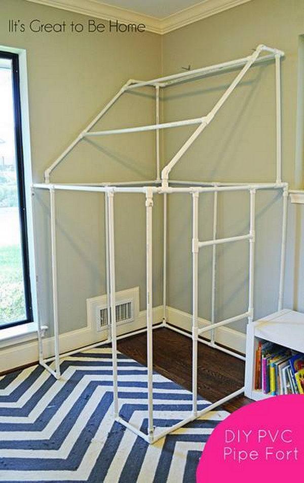 24  DIY PVC Pipe Fort