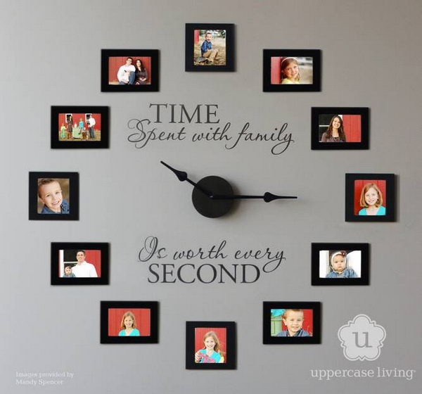 24 Picture Frame Wall Clock