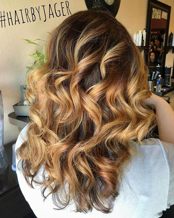 60 Hairstyles Featuring Dark Brown Hair With Highlights Page 24