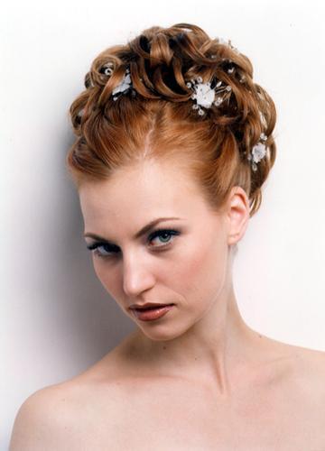 24 short bridal hairstyle updo