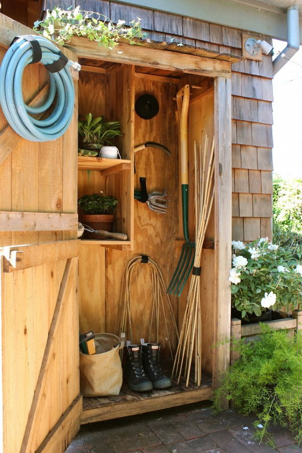 25  Basic Tool Storage with a Cupboard-size Storage Unit