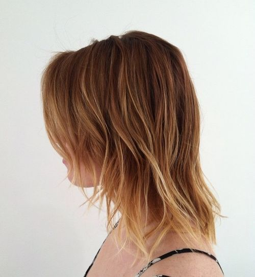 26 layered hairstyle with highlights for fine hair