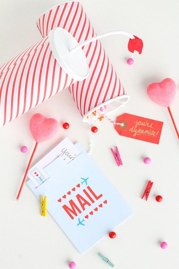 29 DIY You're Dynamite Valentines