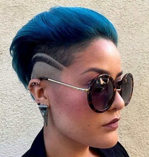 29 mohawk with vibrant hues