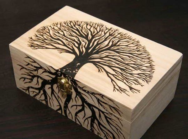 20 DIY Wood Burning Art Project Ideas & Tutorials – Page 3 ...