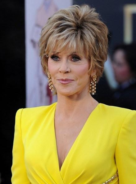 30 Jane Fonda Short Hairstyles Layered Razor