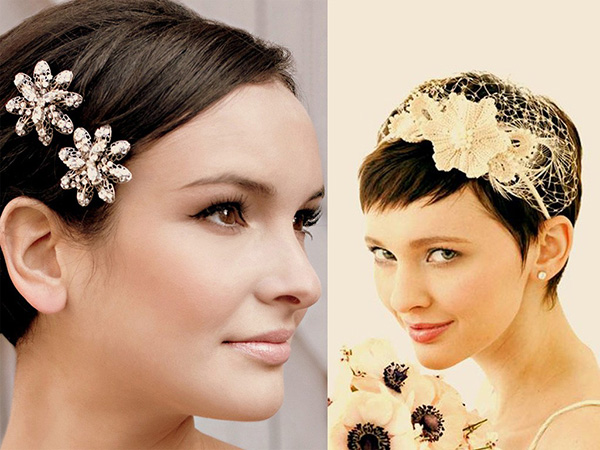30 short wedding hairstyles 2013