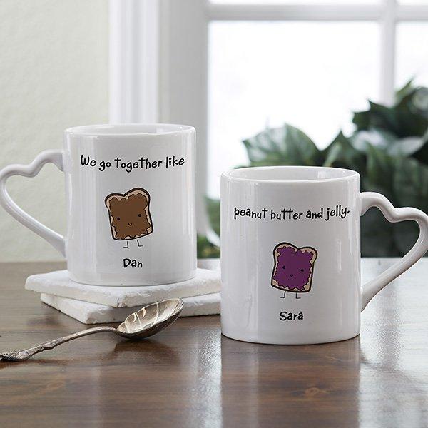 31 Romantic Personalized Coffee Mug Set