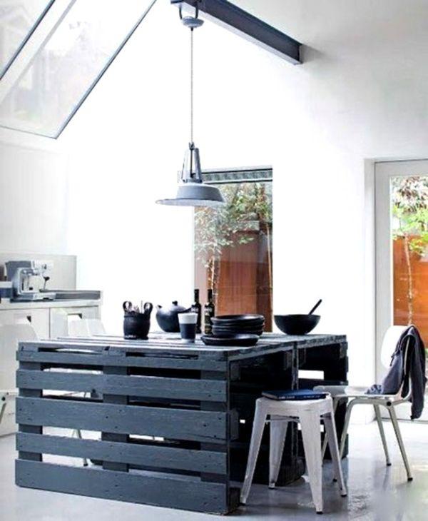 35 Pallet Kitchen Island