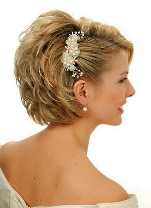 36 Wedding hairstyles for women with short hair