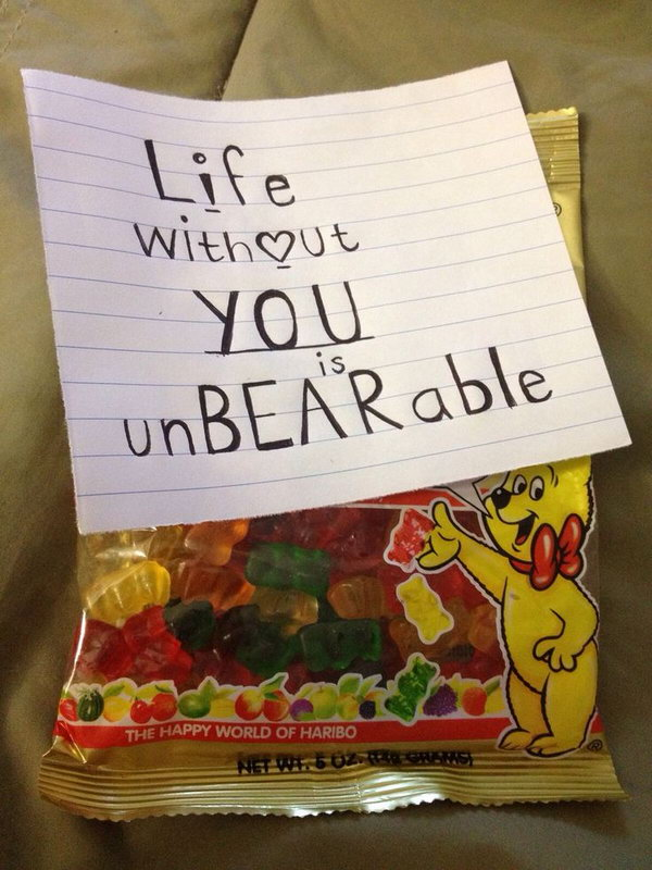 37 Life without You is Unbearable for Gummy Bears Lover